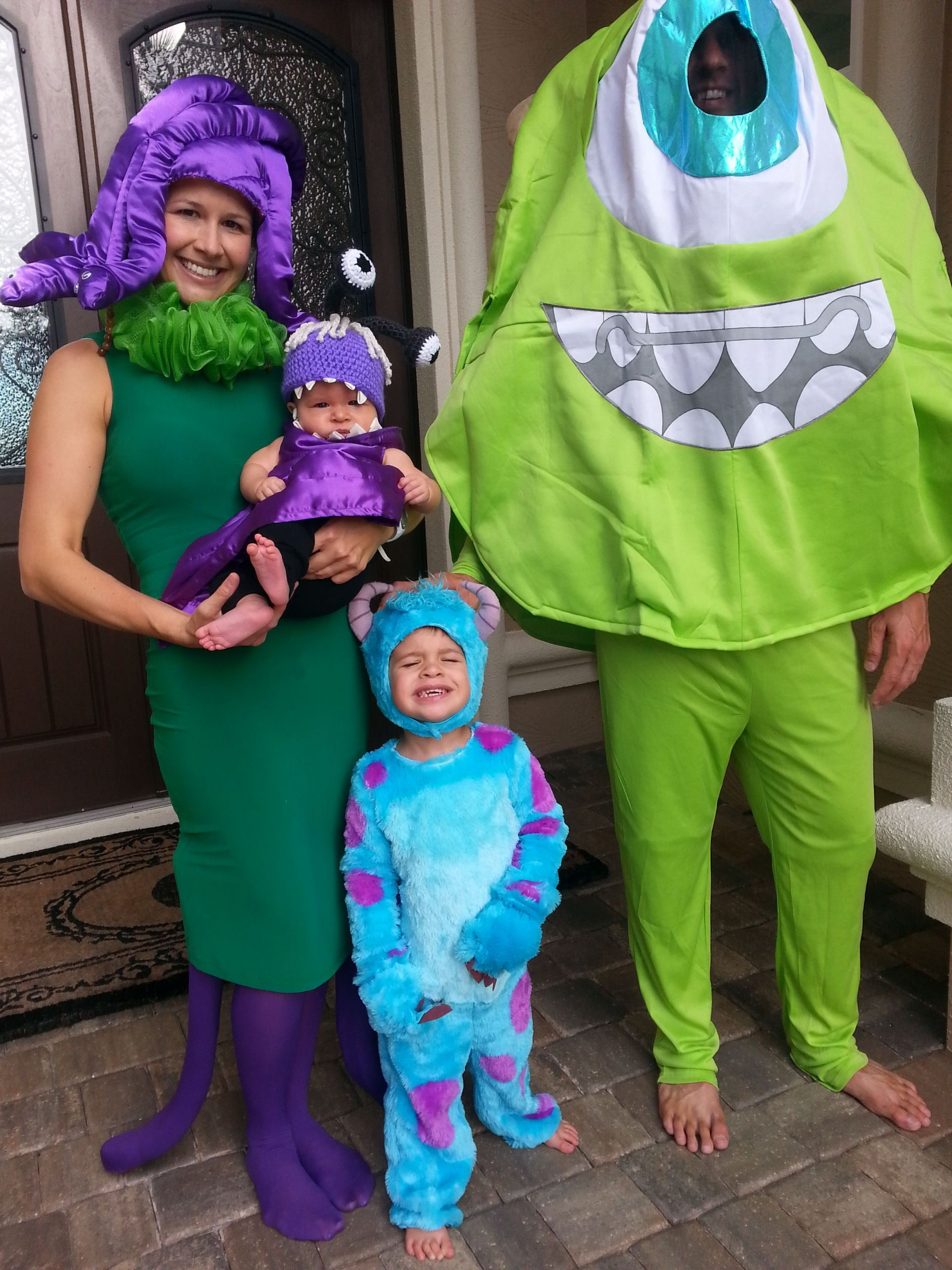 DIY Monsters Inc Costume  monsters inc celia costumes Buscar con Google