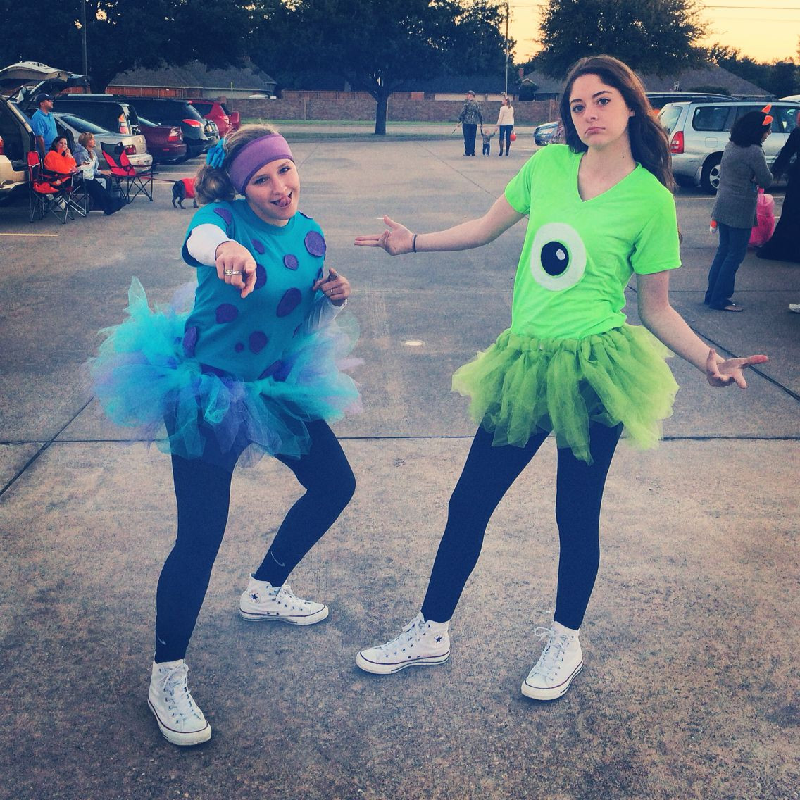 """DIY Monsters Inc Costume  """" ficial"""" 2016 Mickey s Not So Scary Halloween Party"""
