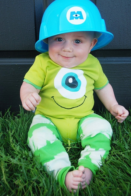 DIY Monsters Inc Costume  Be Different Act Normal DIY Halloween Costume Ideas for