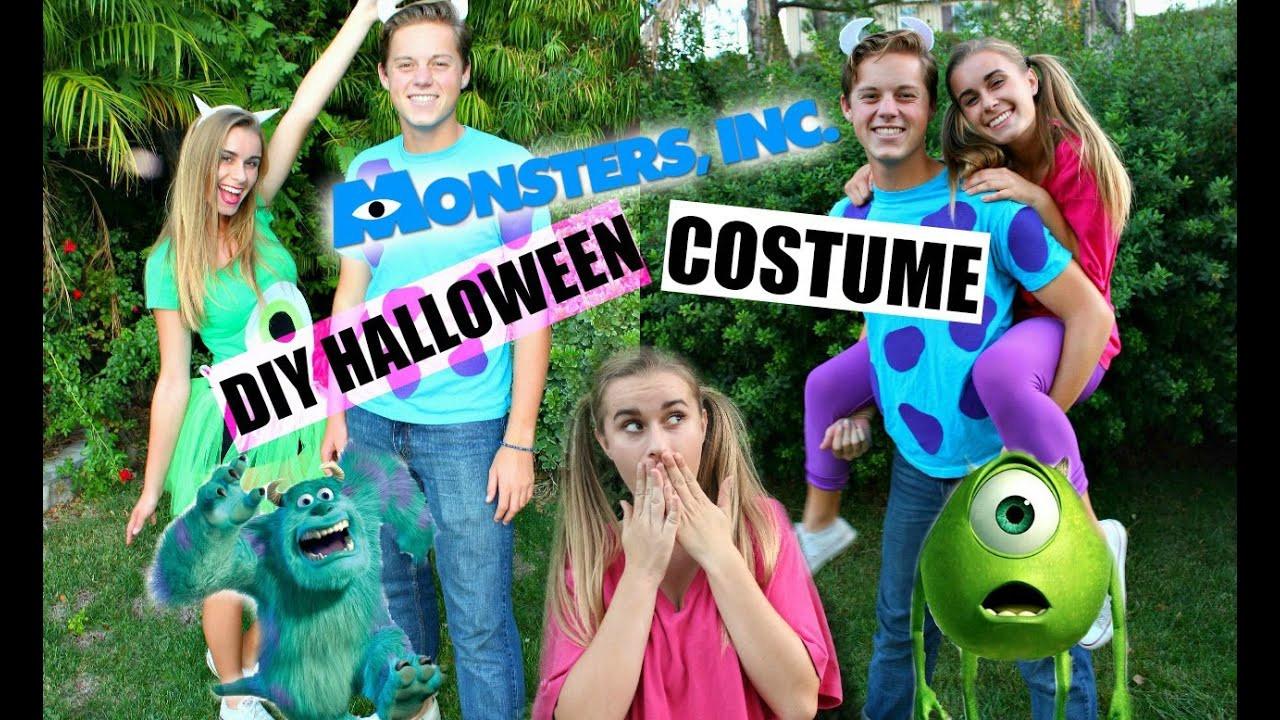 DIY Monsters Inc Costume  DIY Monsters Inc Inspired Halloween Costumes