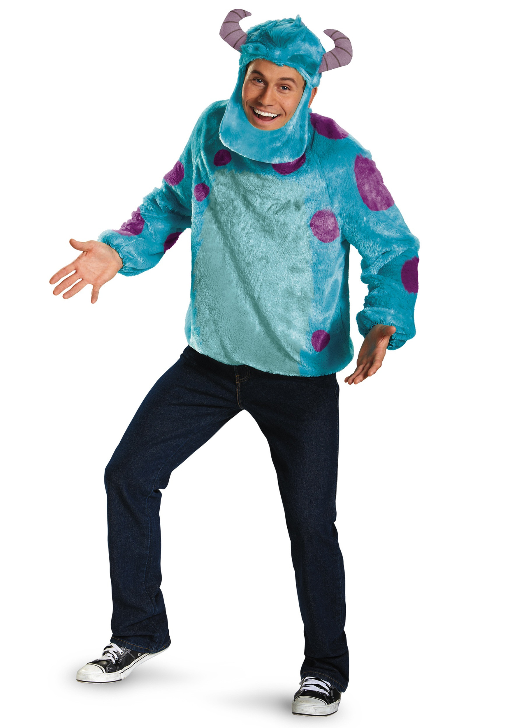 DIY Monsters Inc Costume  Monsters Inc Deluxe Adult Sulley Costume