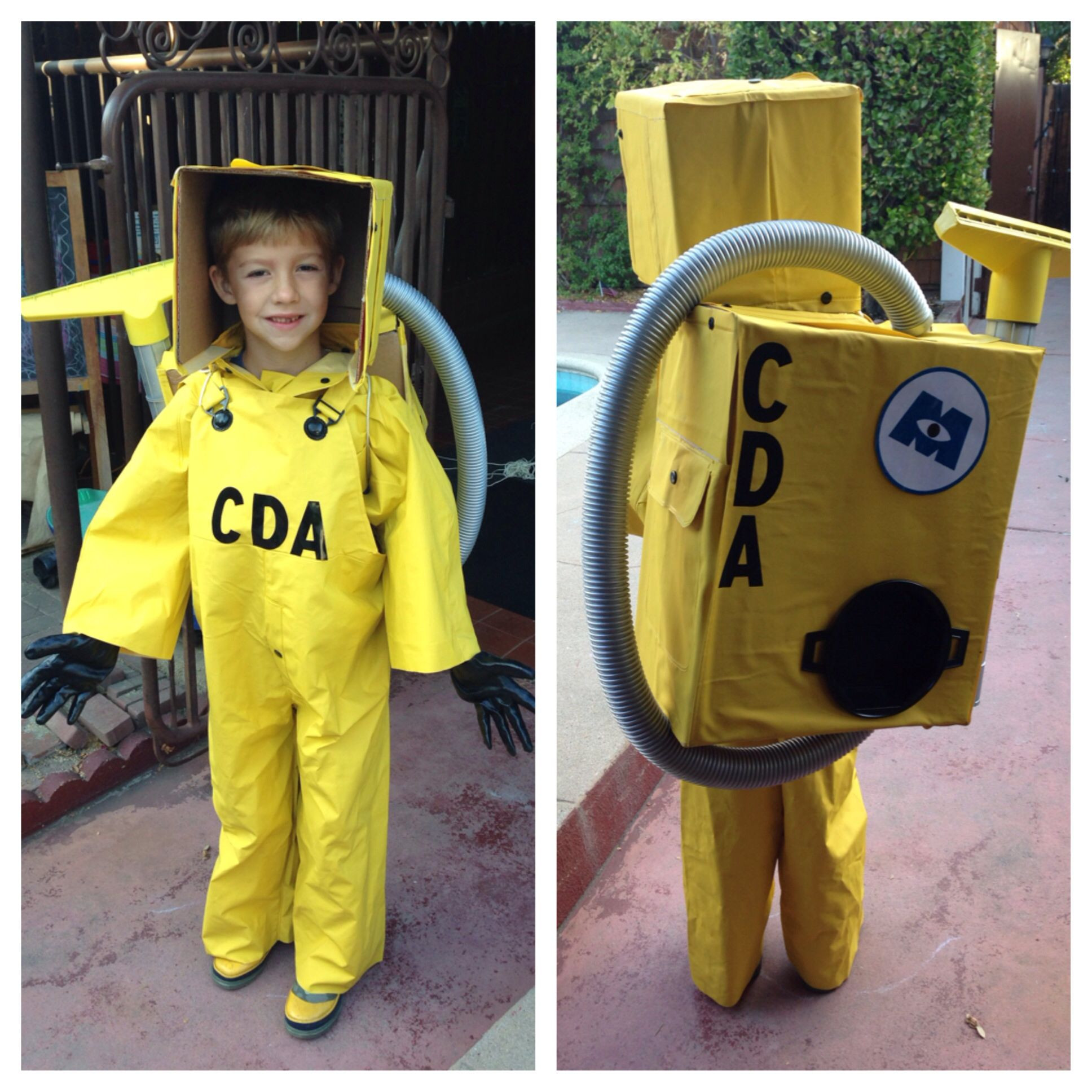 DIY Monsters Inc Costume  Made a CDA costume Monsters inc for my oldest son My