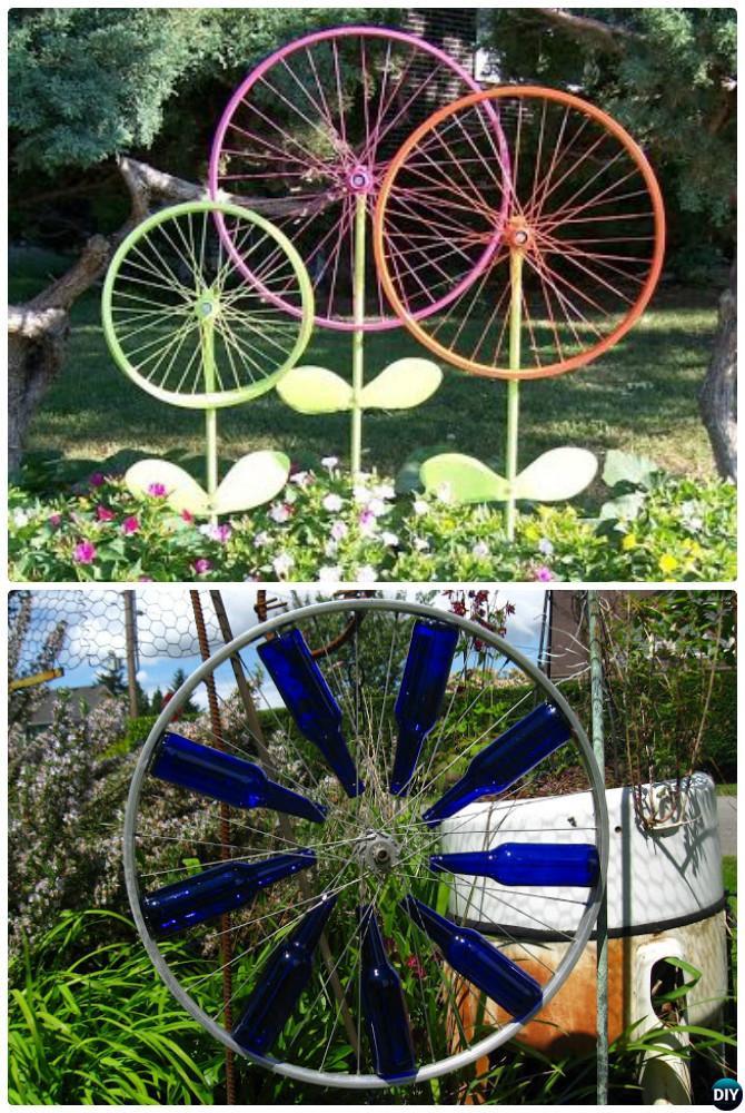DIY Outdoor Art  DIY Garden Art Decorating Ideas Instructions