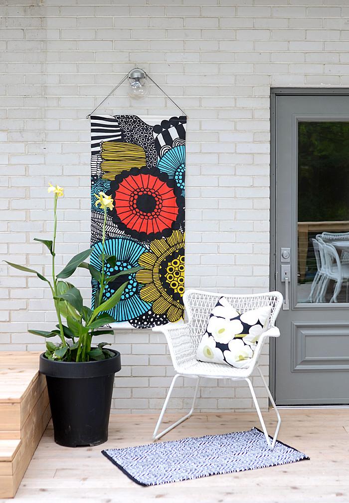 DIY Outdoor Art  Nalle s House DIY Outdoor Art