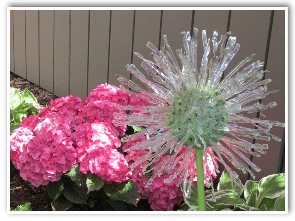 DIY Outdoor Art  DIY Recycled Garden Art Dandelion Inspired Make Something
