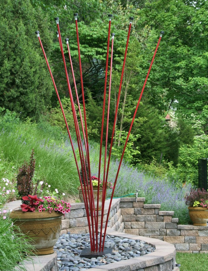 DIY Outdoor Art  Art Garden Sculptures A Gallery in Your Backyard