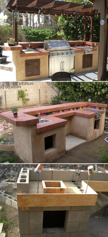 Diy Outdoor Kitchen Ideas  Design Your Space Outdoor Kitchen Ideas