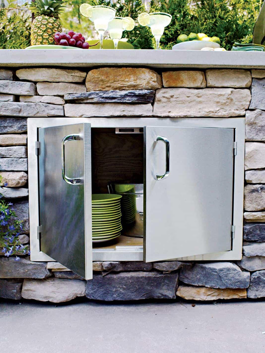 Diy Outdoor Kitchen Ideas  15 Outdoor Kitchen Designs That You Can Help DIY