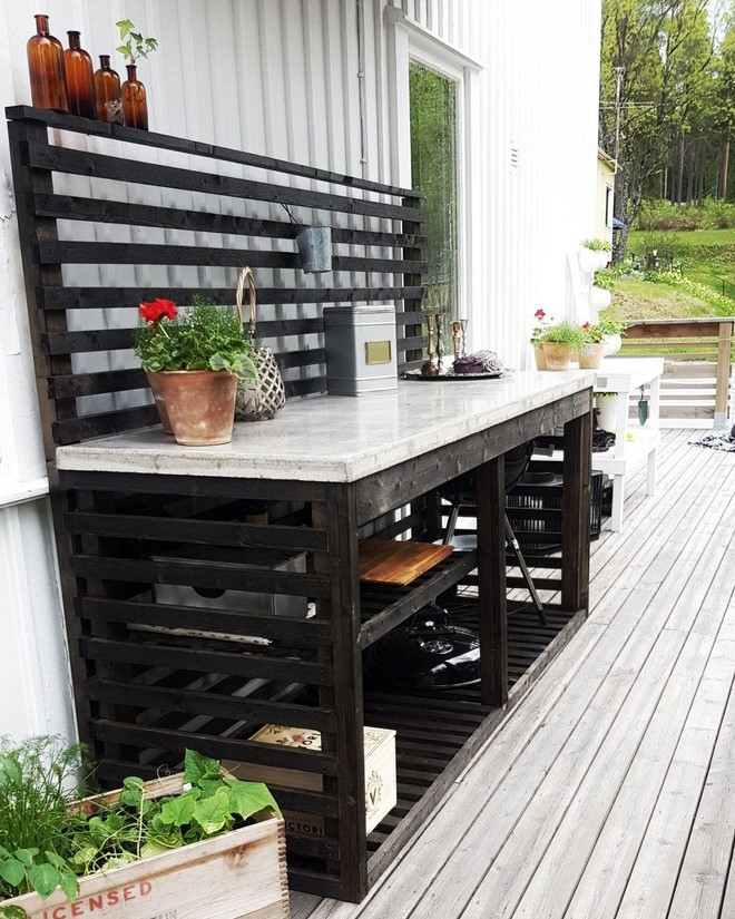 Diy Outdoor Kitchen Ideas  This is how to build a simple outoor kitchen with sink