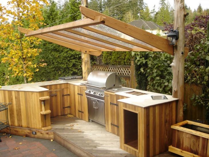 Diy Outdoor Kitchen Ideas  30 Outdoor Kitchen Designs Ideas