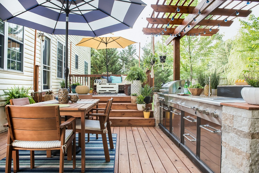 Diy Outdoor Kitchen Ideas  An Amazing DIY Outdoor Kitchen A Simple Way to Add Style