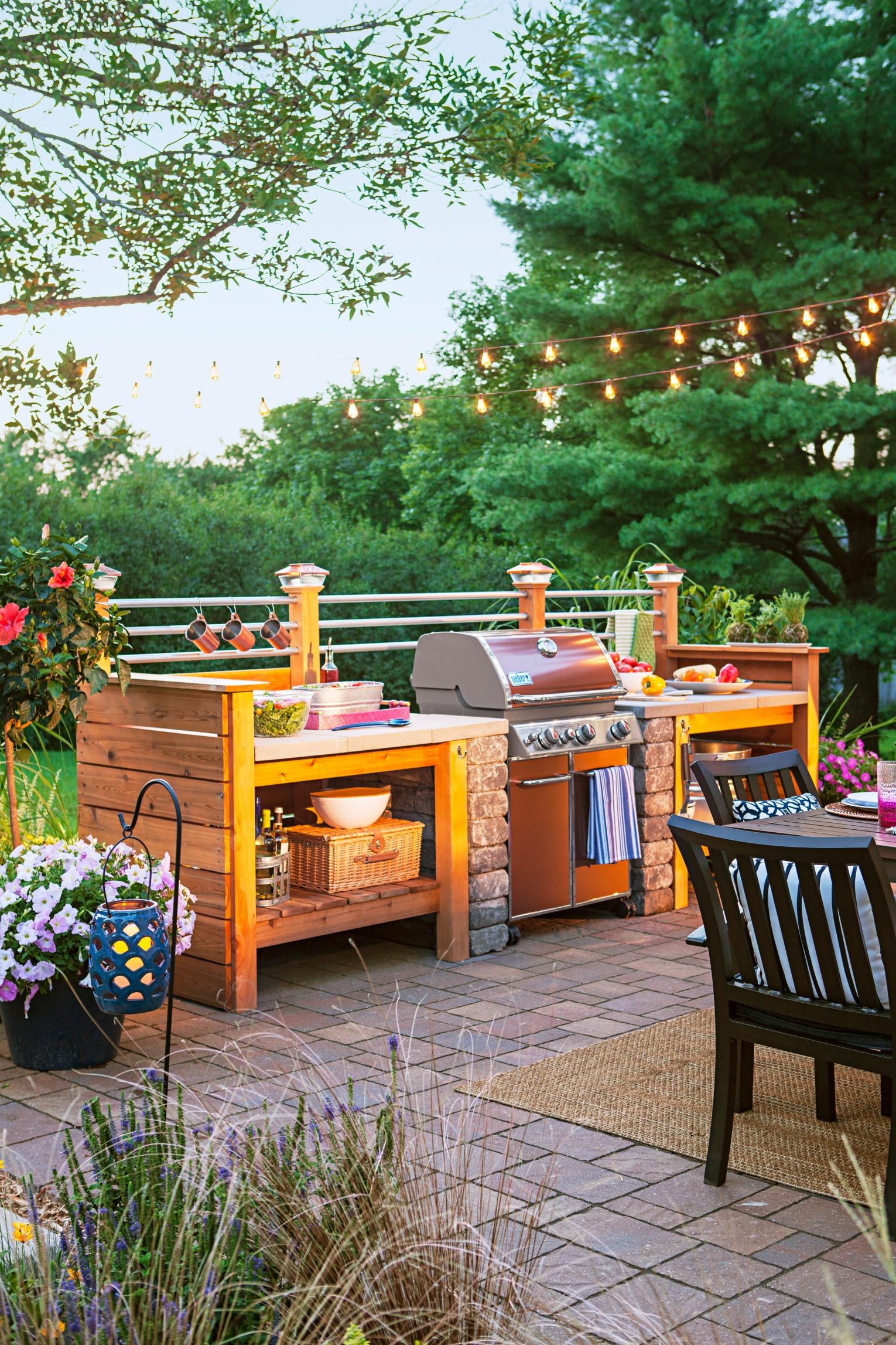 Diy Outdoor Kitchen Ideas  95 Cool Outdoor Kitchen Designs DigsDigs