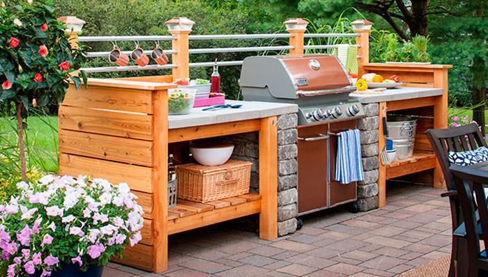 Diy Outdoor Kitchen Ideas  10 Outdoor Kitchen Plans Turn Your Backyard Into
