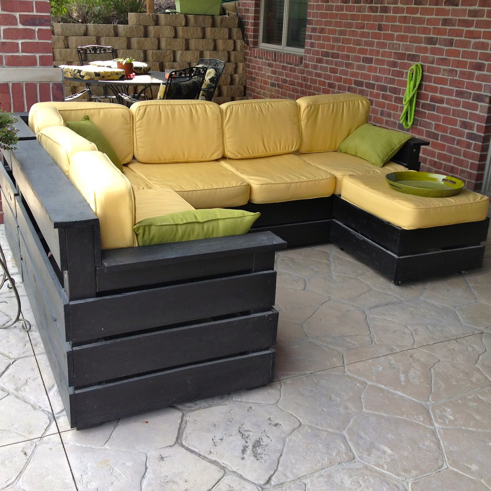 DIY Outdoor Sectional Plans  DIY Why Spend More DIY Outdoor Sectional