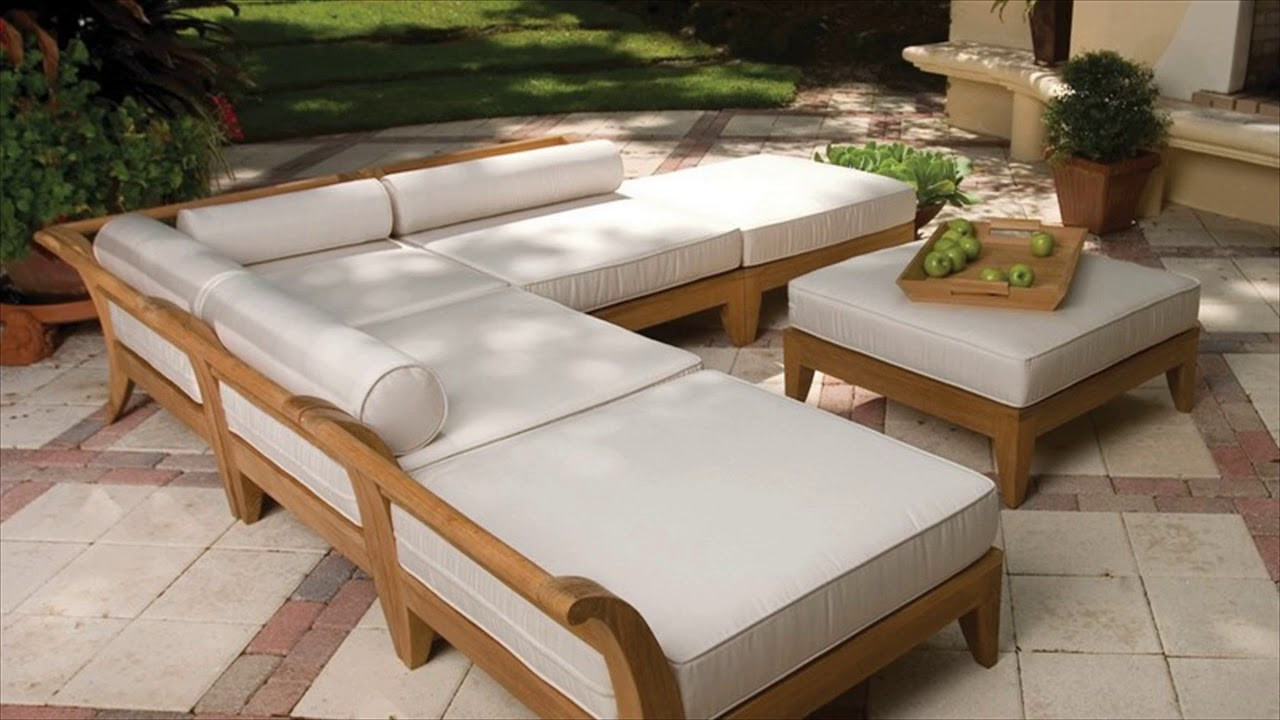 DIY Outdoor Sectional Plans  Diy Outdoor Furniture Plans