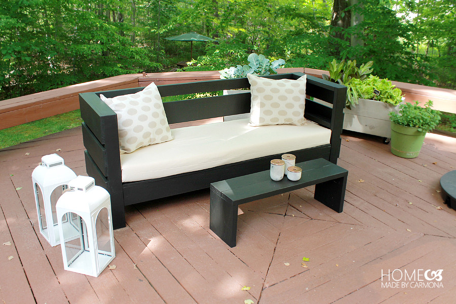 DIY Outdoor Sectional Plans  Learn How to Build an Outdoor Sofa and Coffee Table
