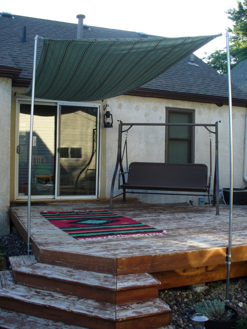 DIY Outdoor Shade  Picture Diy Sun Shade For Your Patio Terrace