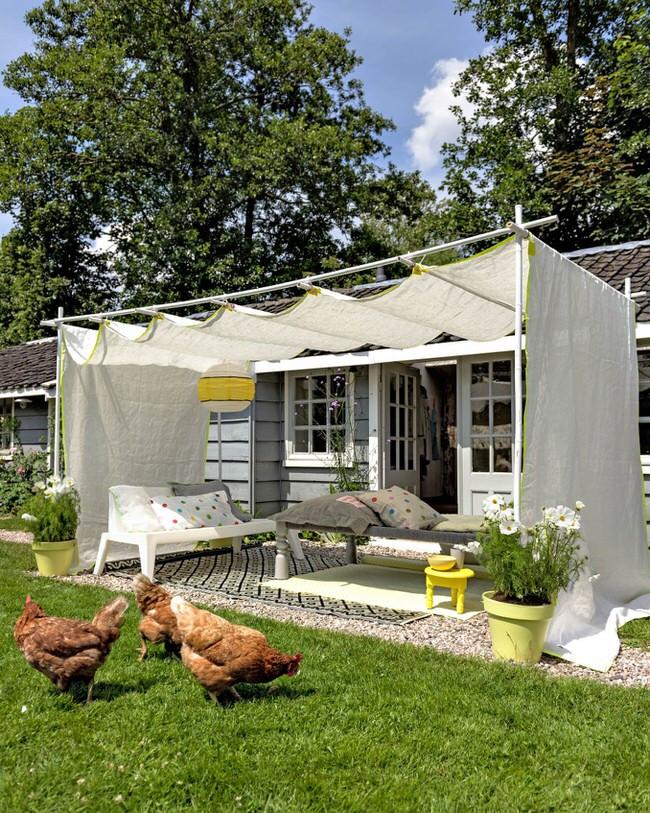 DIY Outdoor Shade  9 Clever DIY Ways to Create Backyard Shade • The Garden Glove