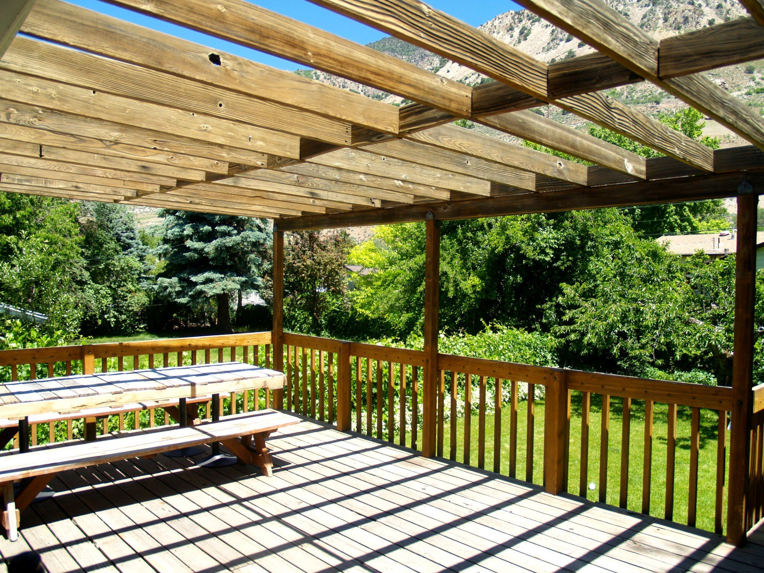 DIY Outdoor Shade  Outdoor Space Makeover Painted Floors & DIY Drop Cloth Shade