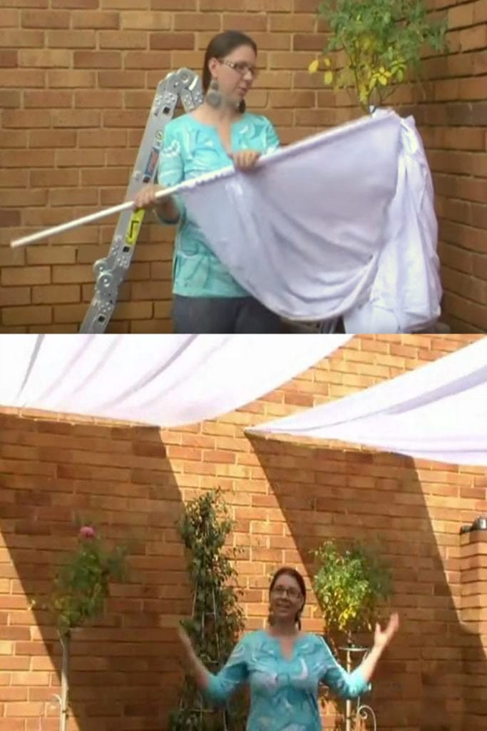 DIY Outdoor Shade  12 Beautiful Shade Structures & Patio Cover Ideas A