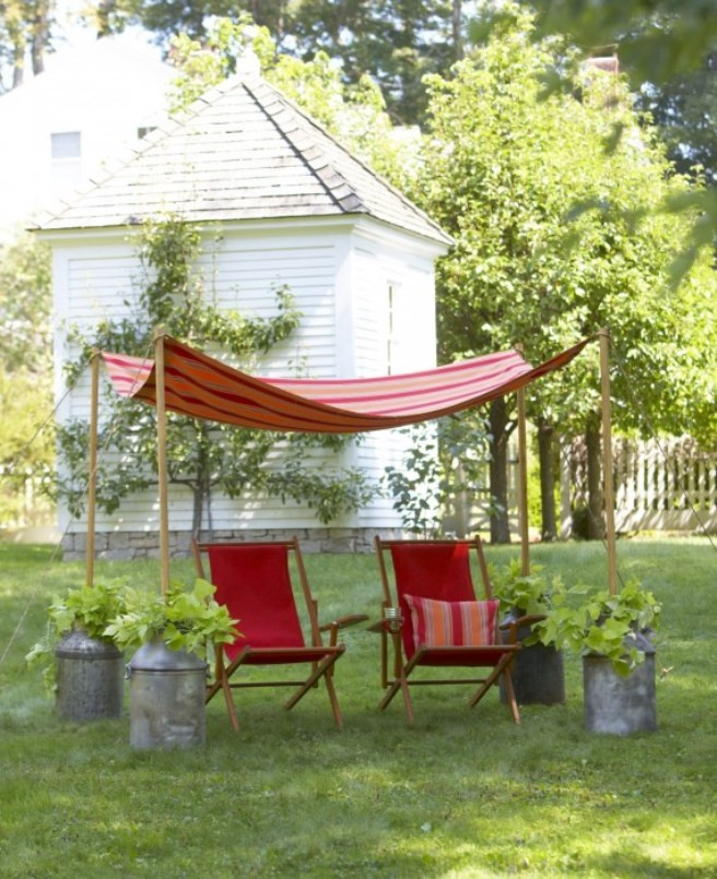DIY Outdoor Shade  Easy Canopy Ideas to Add More Shade to Your Yard