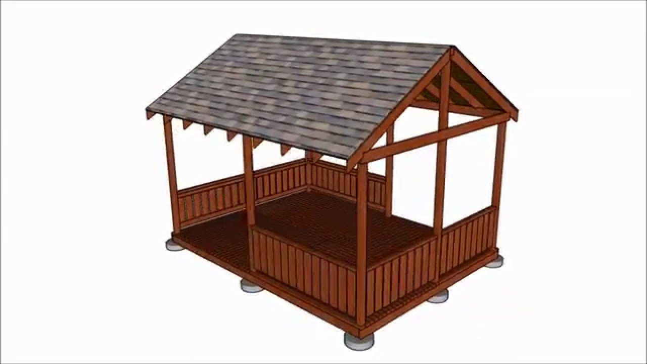 DIY Pavilion Plans  Diy gazebo plans