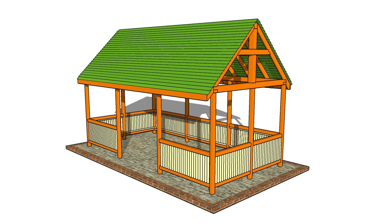 DIY Pavilion Plans  Outdoor pavilion plans