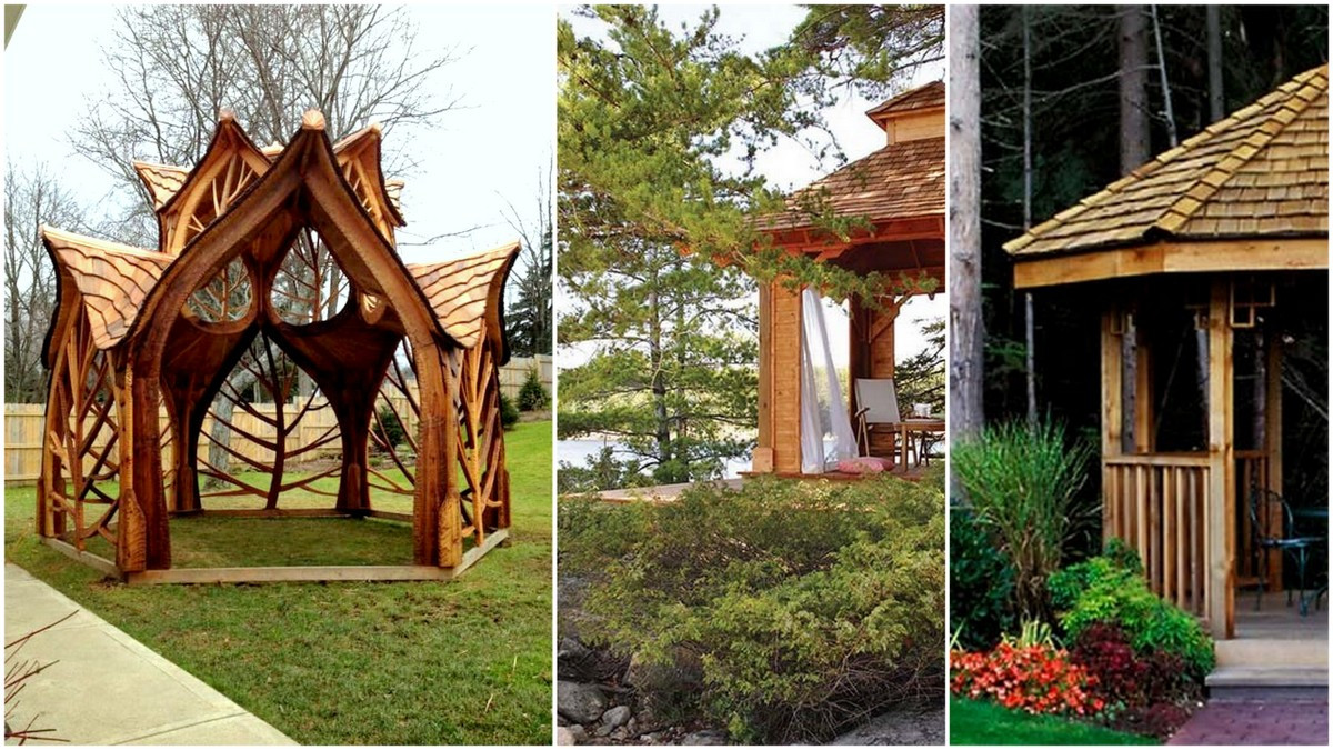 DIY Pavilion Plans  27 Cool and Free DIY Gazebo Plans & Design Ideas to Build