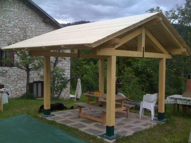 DIY Pavilion Plans  22 Free DIY Gazebo Plans & Ideas to Build with Step by