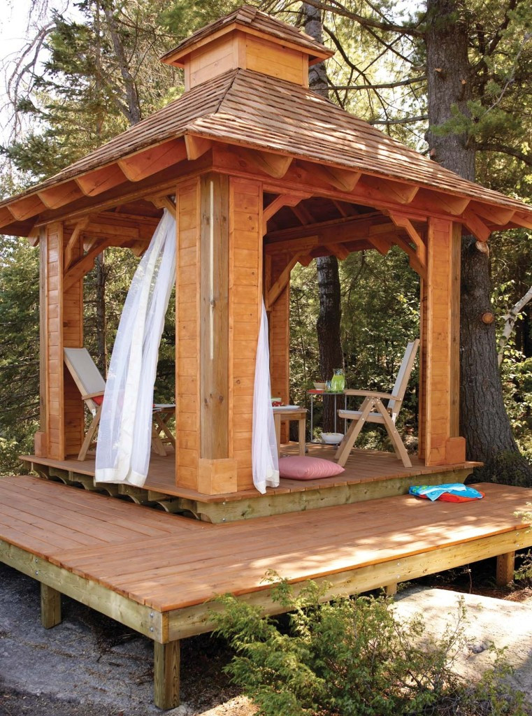 DIY Pavilion Plans  Gazebo Plans 14 DIY Ideas to Enjoy Outdoor Living – Home