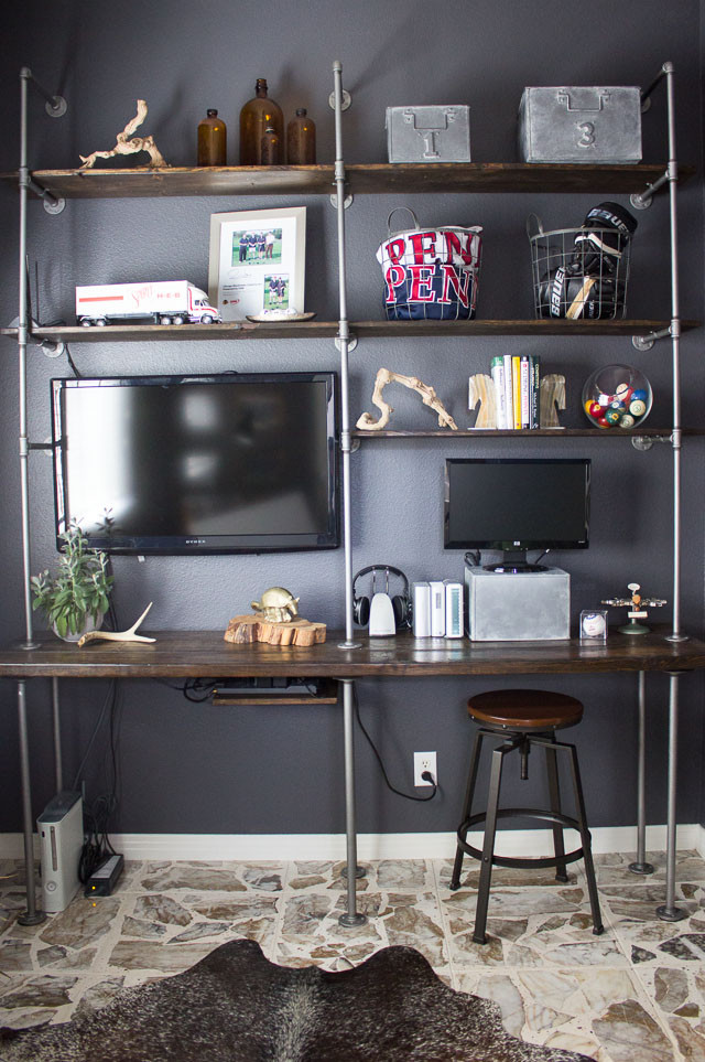 DIY Pipe And Wood Shelves  DIY Industrial Pipe and Wood Shelves Tips and Tricks