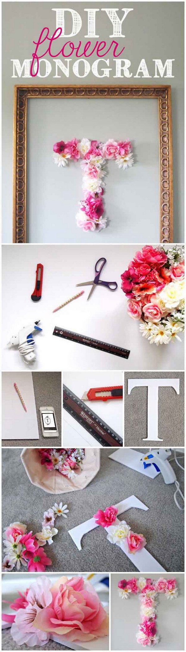 DIY Room Decorations For Girls  Cool DIY Ideas & Tutorials for Teenage Girls Bedroom