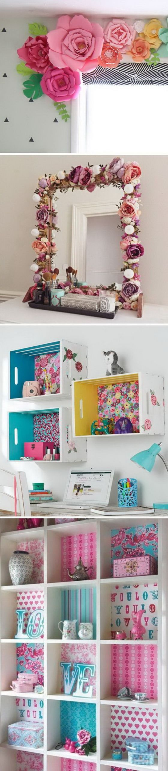 DIY Room Decorations For Girls  20 Awesome DIY Projects To Decorate A Girl s Bedroom Hative