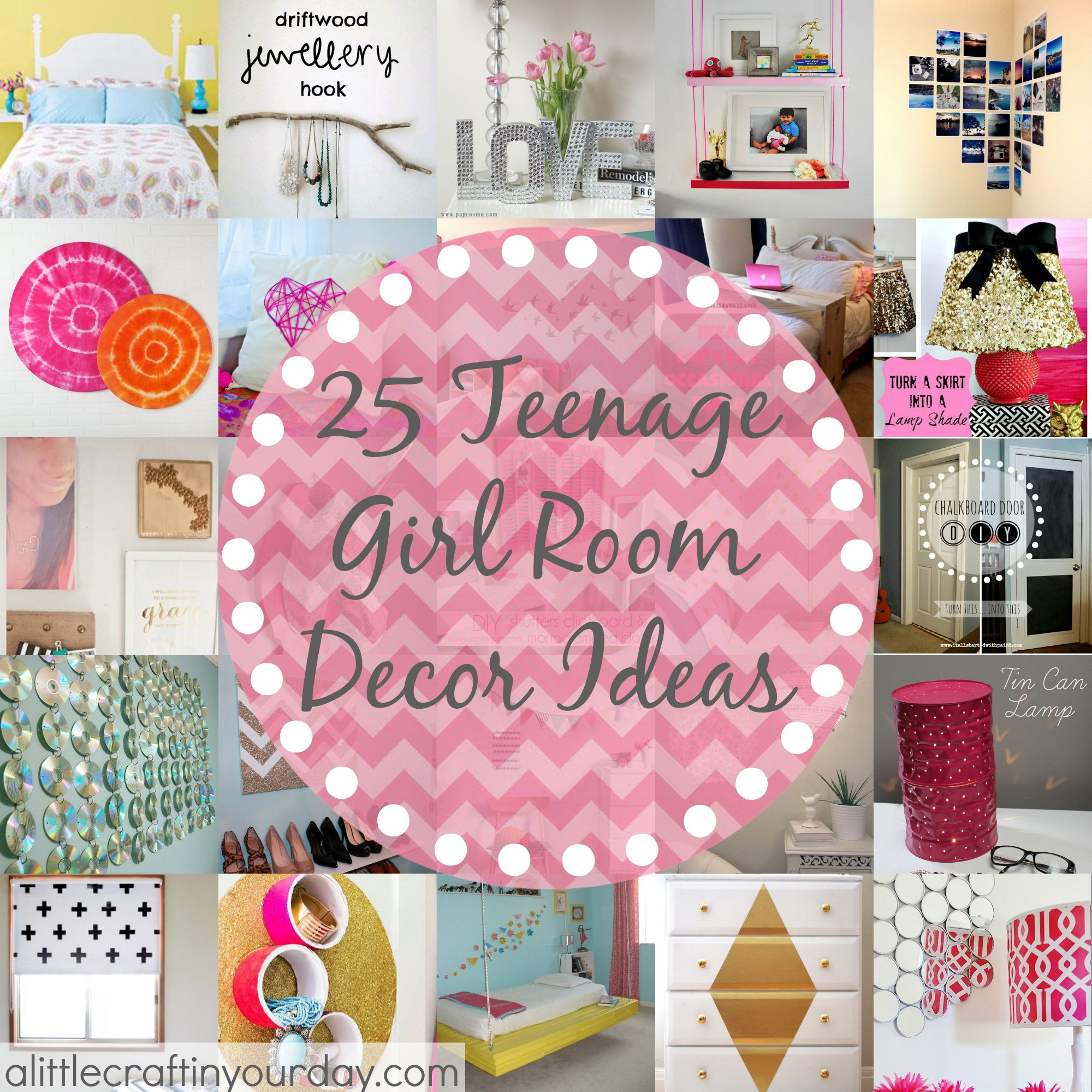 DIY Room Decorations For Girls  25 More Teenage Girl Room Decor Ideas A Little Craft In