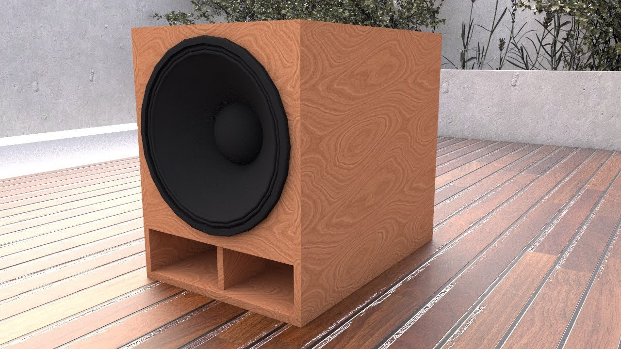 DIY Sub Boxes  EASY TO DIY 18 Inch Subwoofer BOX Plan 35Hz Tuned