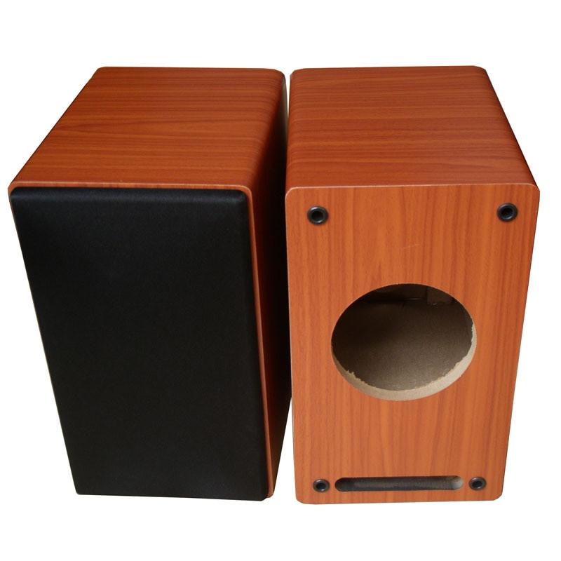 DIY Sub Boxes  Empty 4 inch wooden speaker box passive subwoofer speaker