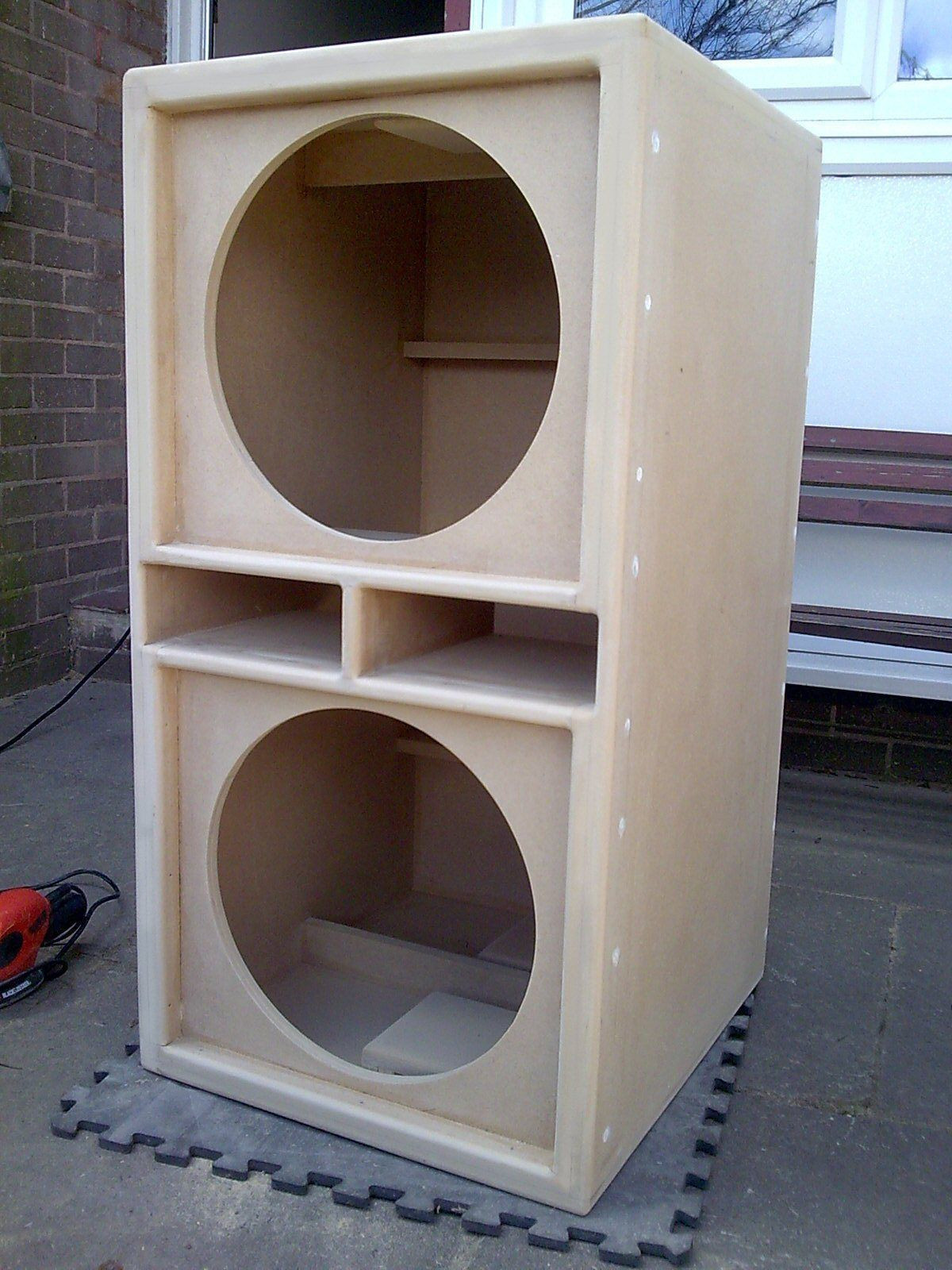 DIY Sub Boxes  Pin by Benjamin Ortizrivera on sound system