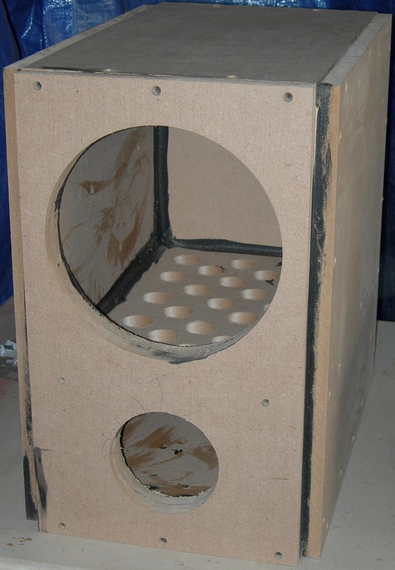 DIY Sub Boxes  HiVi SP10 DIY Subwoofer Project
