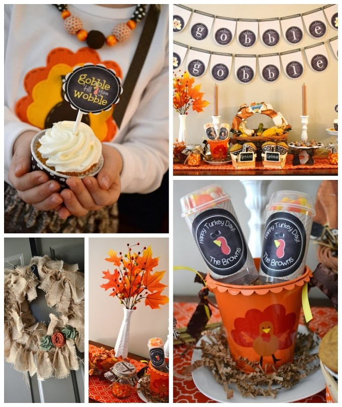DIY Thanksgiving Decor Pinterest  DIY Thanksgiving Party Decorations s and