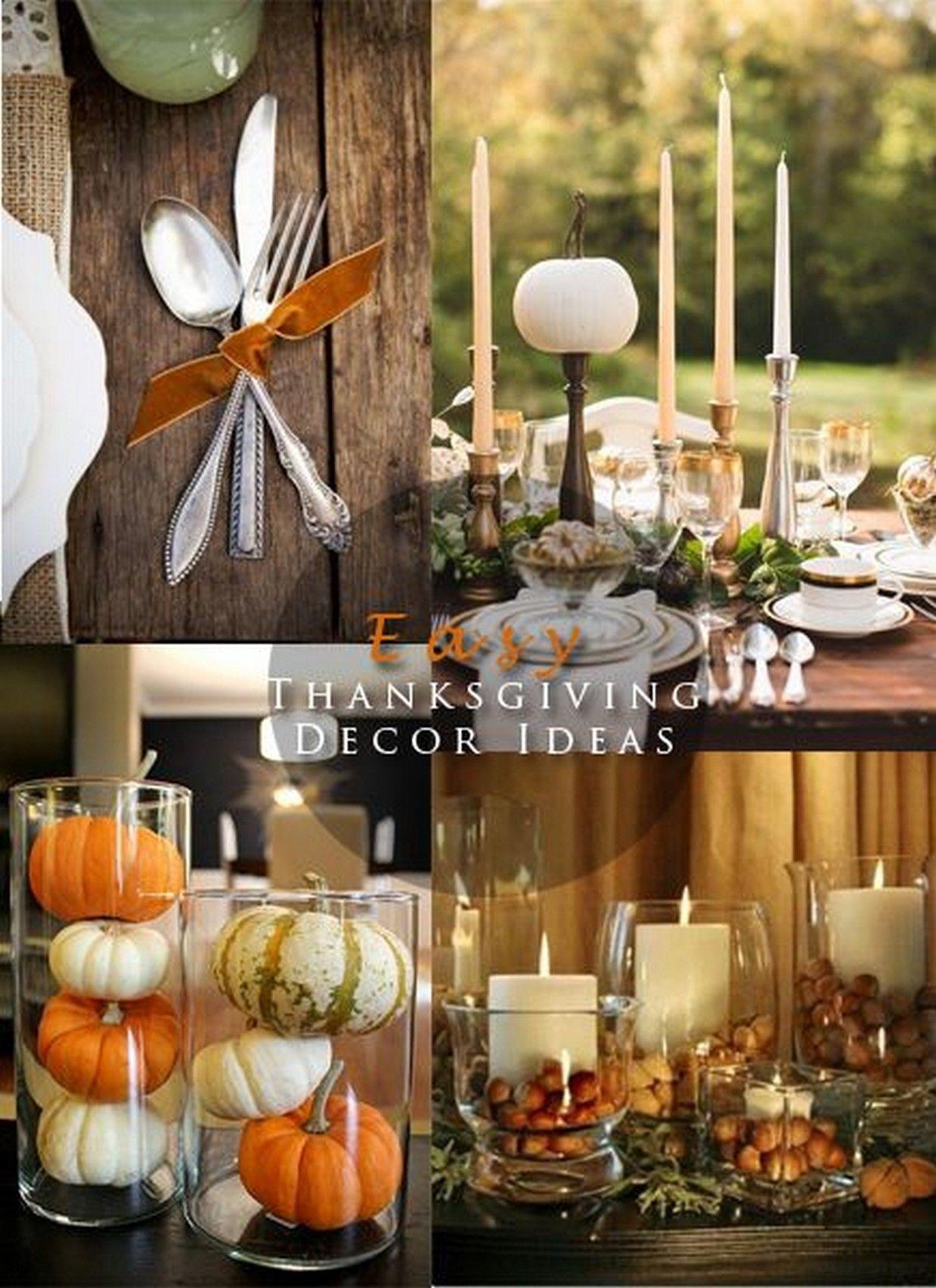 DIY Thanksgiving Decor Pinterest  pinterest decorating ideas