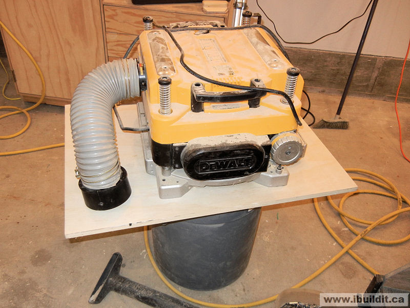 DIY Thickness Planer  How To Make A Planer Stand IBUILDIT CA