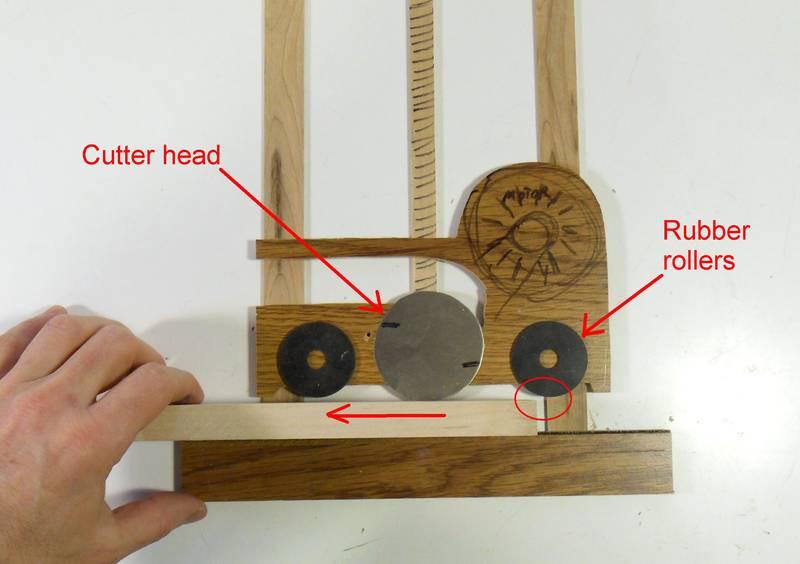 DIY Thickness Planer  Aff Wood Popular Beginner woodworking workshop
