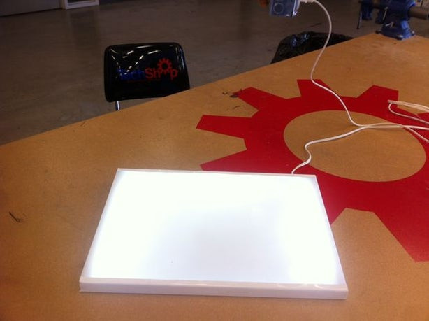 DIY Tracing Light Box  Inexpensive DIY LED Lightbox for Tracing 9 Steps with