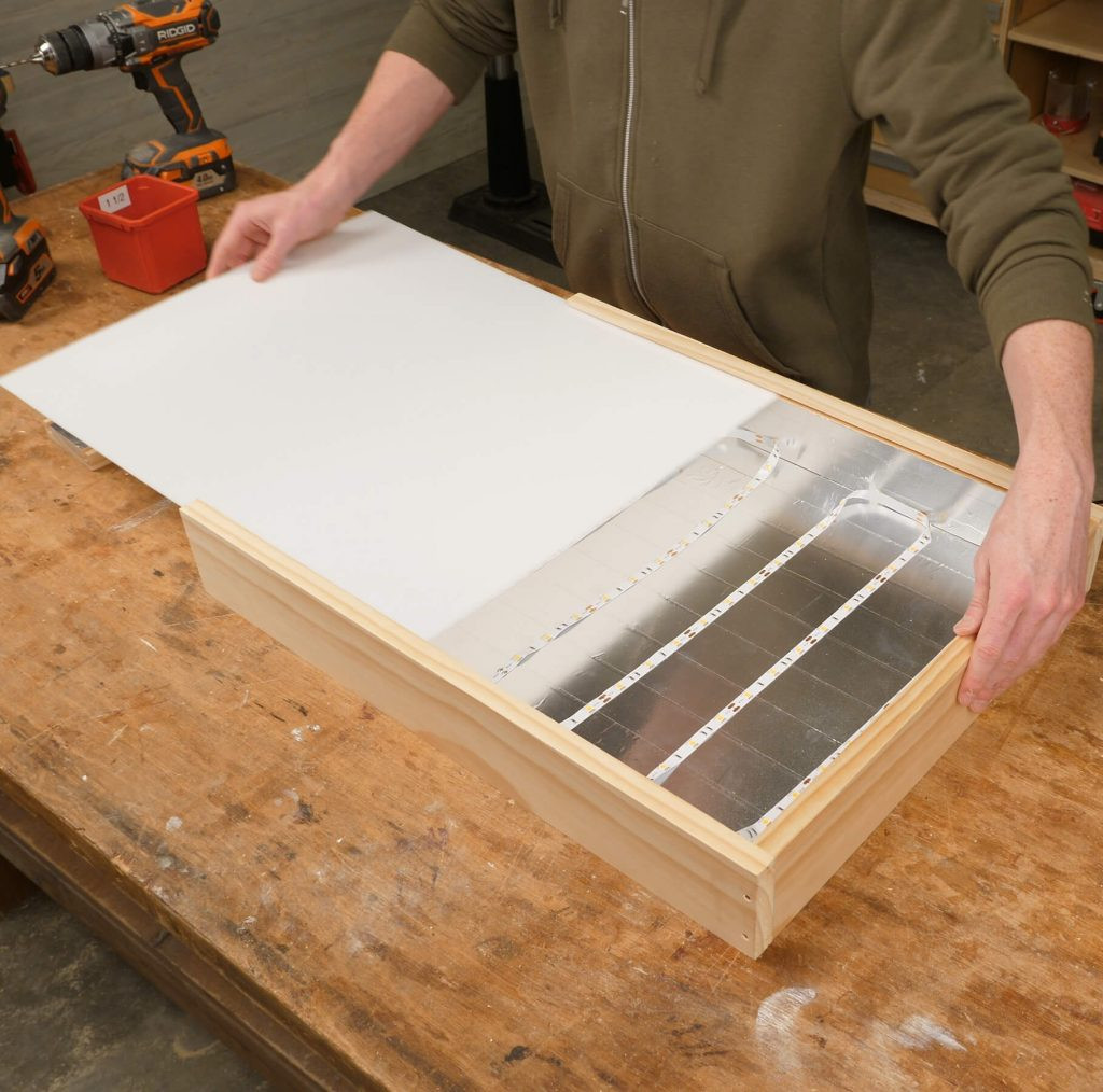 DIY Tracing Light Box  How To Build A Quick DIY Light Box