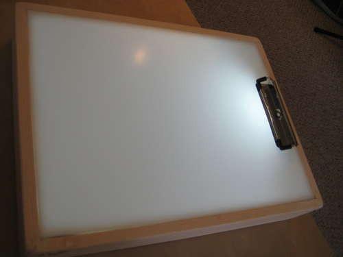 DIY Tracing Light Box  How to Make a DIY Sketch Tracer Light Box