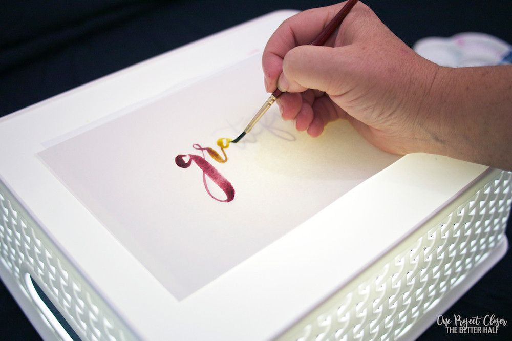 DIY Tracing Light Box  How to Make a DIY Lightbox for Tracing e Project Closer