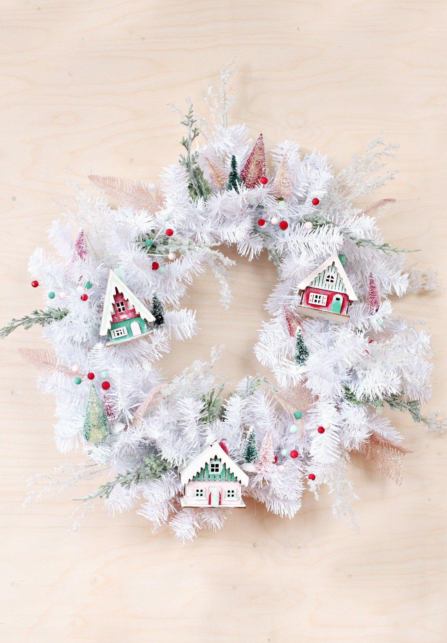 DIY Winter Decor  Christmas Door Decorations Start The Winter Celebrations Early