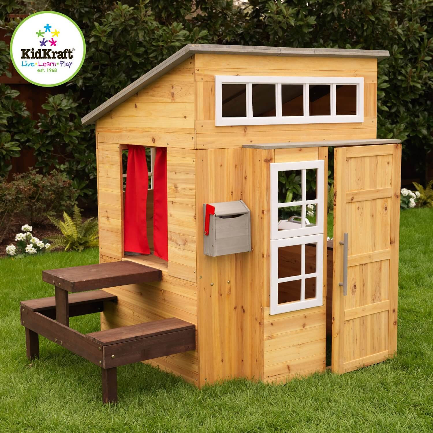 DIY Wood Playhouse  How to Build a Playhouse with Wooden Pallets Step by Step