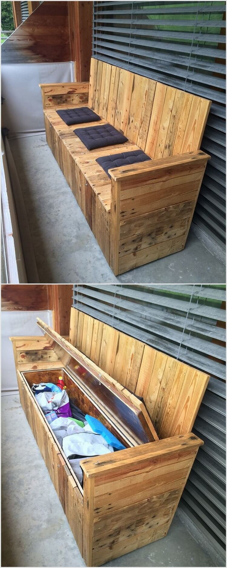 DIY Wood Projects  Some Fascinating DIY Projects with Old Wood Pallets