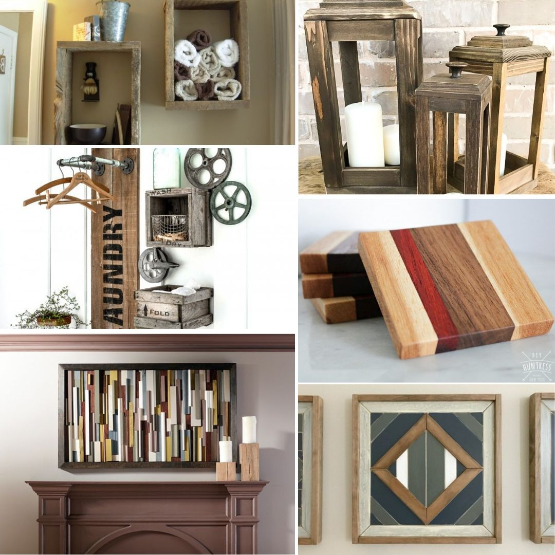 DIY Wood Projects  59 Nifty DIY Scrap Wood Projects for Thrifty Home Decor
